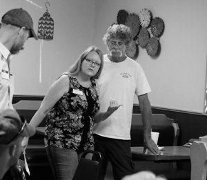 """Scherrie & John Piddock share plans for their future (hint - a hand-hewn """"vintage"""" barn event venue (and pickin' place!)"""